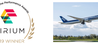 ANA named top performer in Asia Pacific for the second year in a row