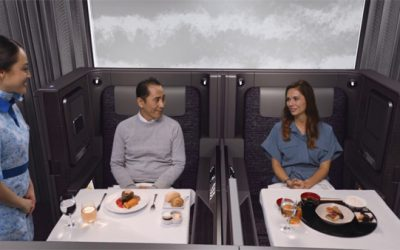 ANA Launches New Luxury Cabins