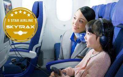 ANA Receives Prestigious 5-Star Rating from SKYTRAX