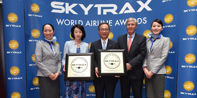 EVA Certified a SKYTRAX 5-Star Airline Fourth Year in a Row