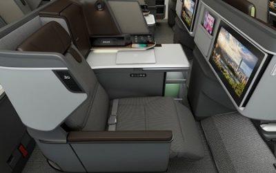 EVA Reveals new Royal Laurel Class business cabin