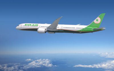 EVA Ranks 3rd in AirlineRatings' World's Safest Airlines for 2020