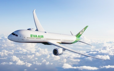 EVA Climbs to 3rd of World's Best International Airlines