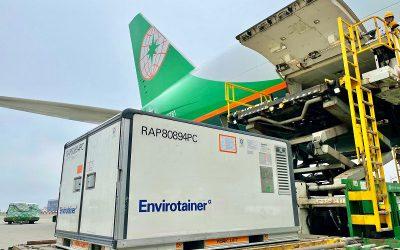 EVA, EGAS Win IATA CEIV Pharma Certifications