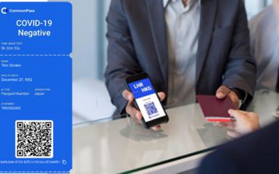 ANA Tests CommonPass Digital Health Passport