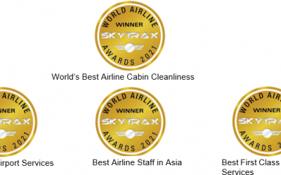 ANA Wins Global SKYTRAX Awards for Cleanliness and Quality Services